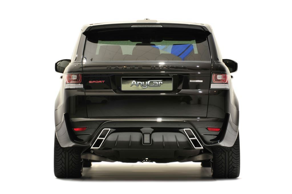 2014Range Rover Sport with Startech Rear Bumper and Exhaust Tips