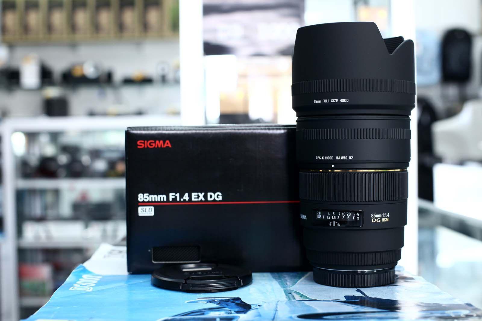 Sigma 85mm F 14 Ex Dg Hsm Photography Pinterest Nikon And