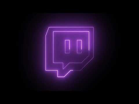 Twitch Neon Logo Loop Animation by #MotionMade