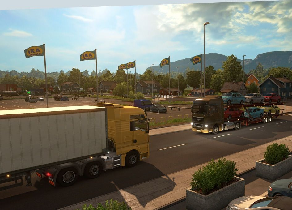 Euro Truck Simulator Free Download Crack + Serial Key | Profreecrack