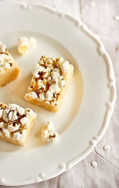 Popcorn Fudge by raspberri cupcakes