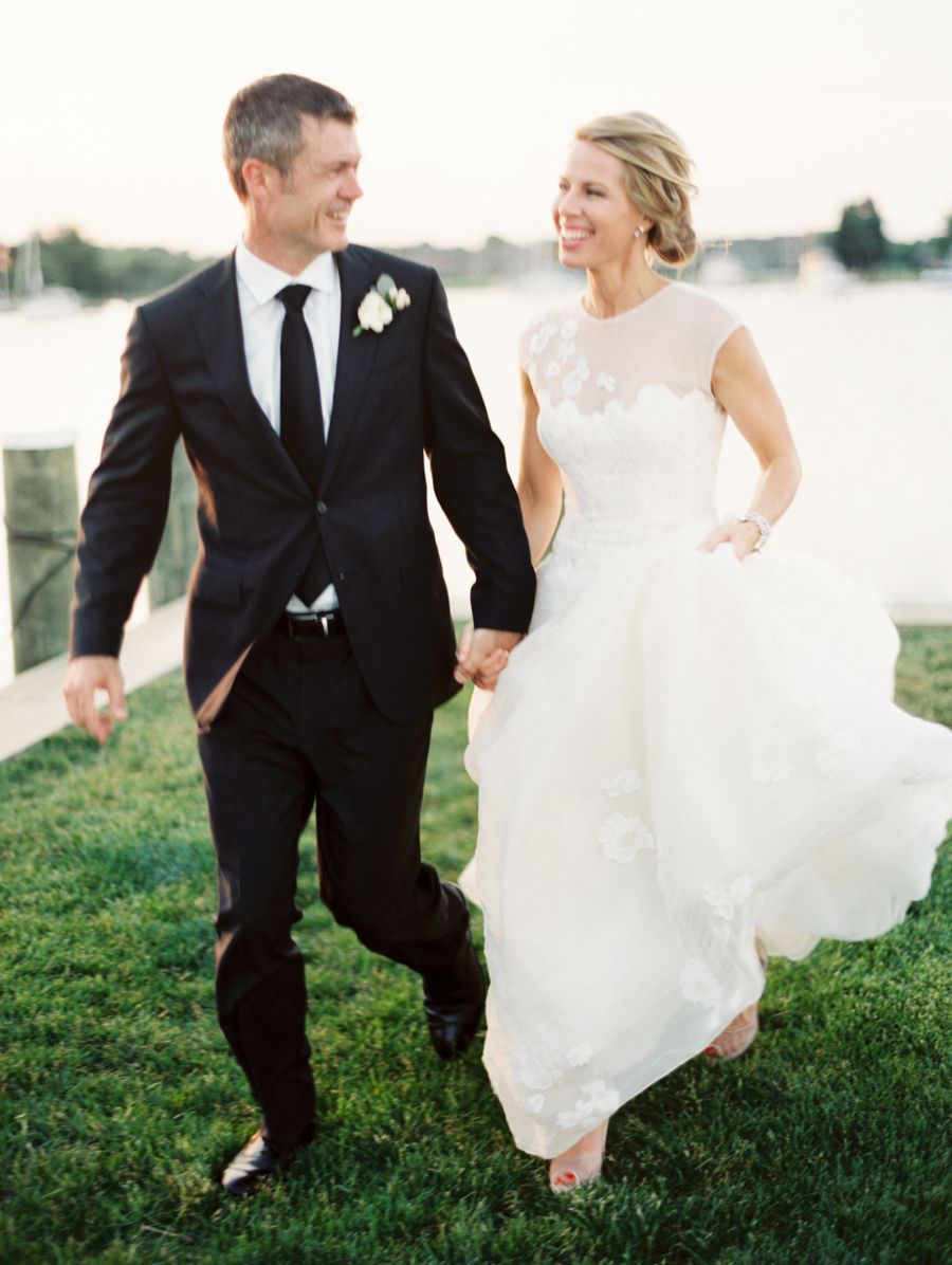Oh-So-Classic Nautical Wedding | Bride & Groom | Pinterest ...