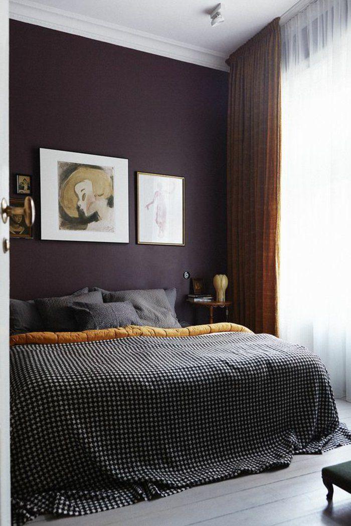 80 idées d\'intérieur pour associer la couleur prune! | chambres ...