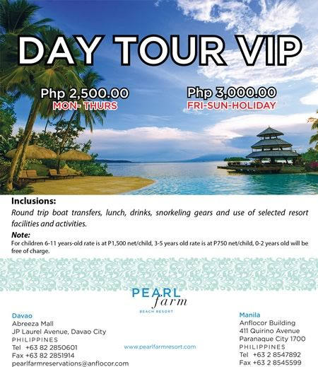 Pearl Farm Beach Resort Davao Promos Places To Go