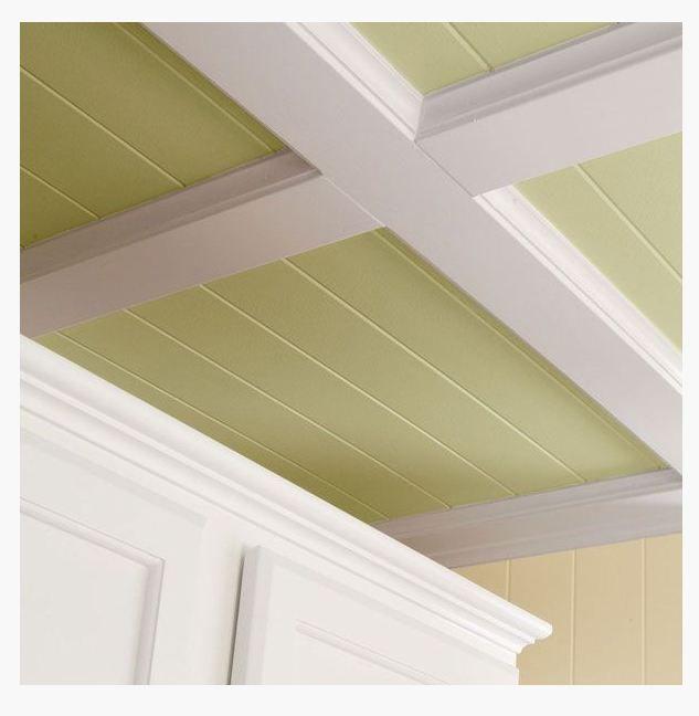 Box beam ceiling transition my dream bedroom pinterest for Box beam ceiling