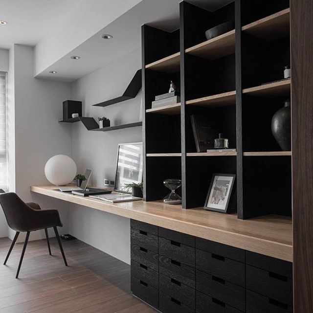 Pin By Tanya Penner On Bb Basement Office In 2020 Home Office Decor Office Interior Design Home Office Design