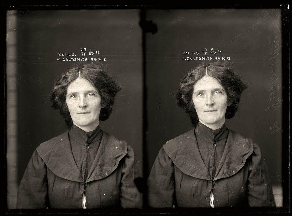 Portraits de criminels australiens dans les années 1920 photo police sydney australie mugshot 1920 30 photo photographie histoire featured art