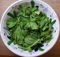 Simple Lemony Arugula Salad