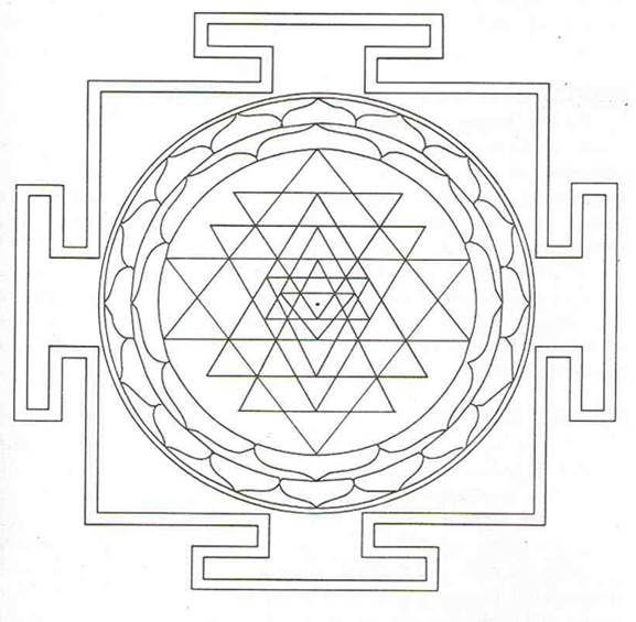 Truth As Seen Via Sacred Geometry Sri Yantra Sacred Geometry