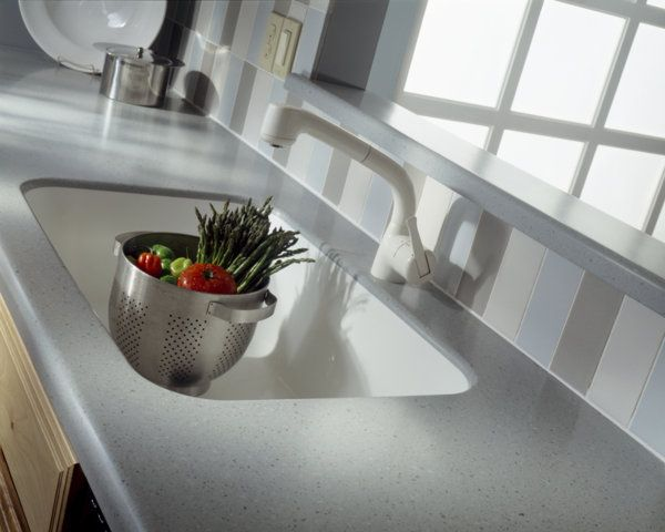 Blue Pebble Corian Countertop Custom Countertops Countertops