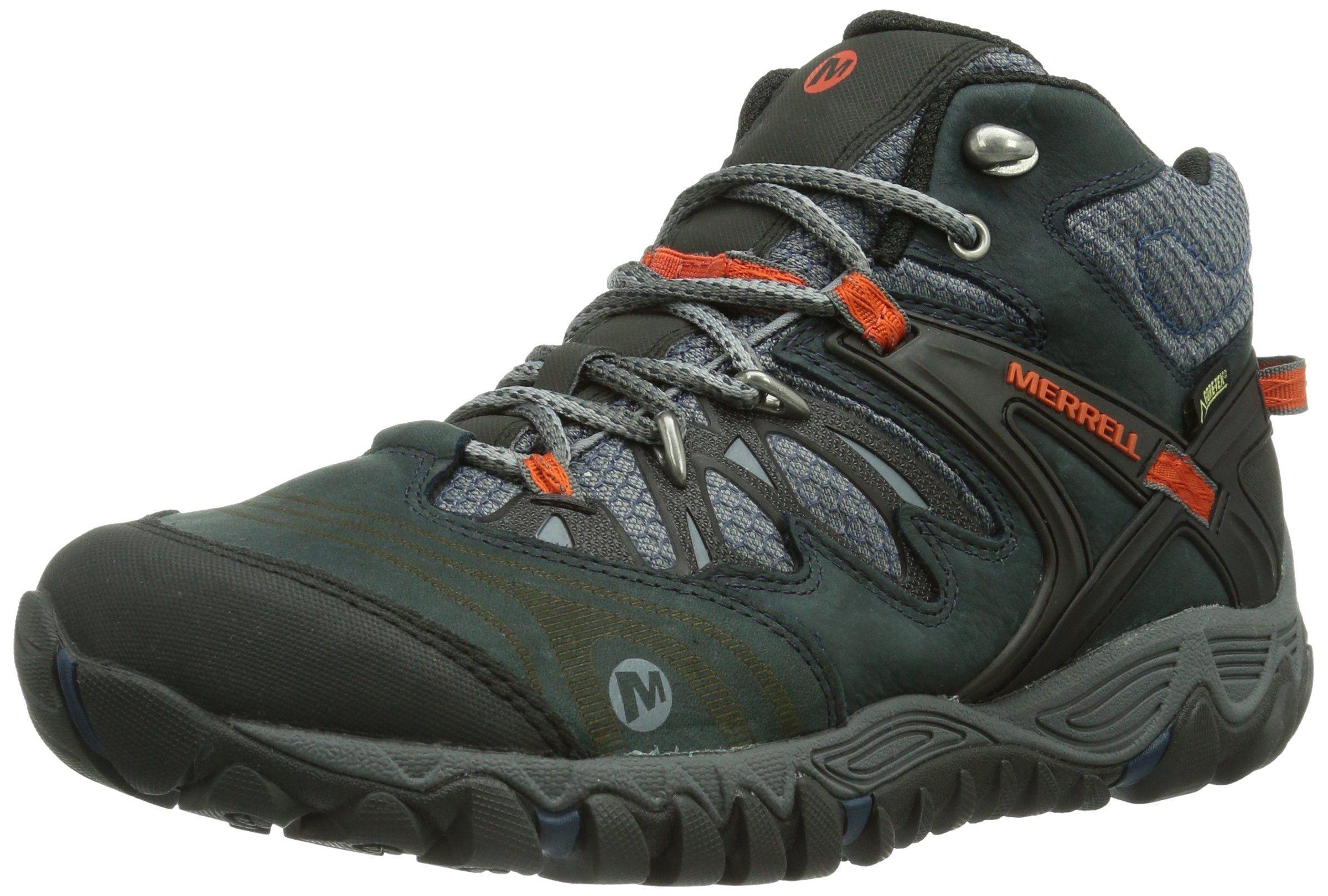 6cf82aab035 Merrell Allout Blaze Mid Gore Tex - Botas de senderismo de cuero para hombre   Amazon.es  Zapatos y complementos