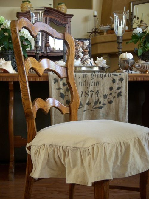 sewn from a canvas drop cloth cottage kitchens pinterest