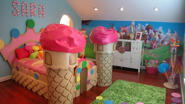 I Would Love To Have A Candy Land Room For My Little Girl