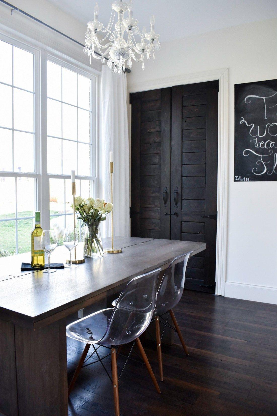how to build a pantry door
