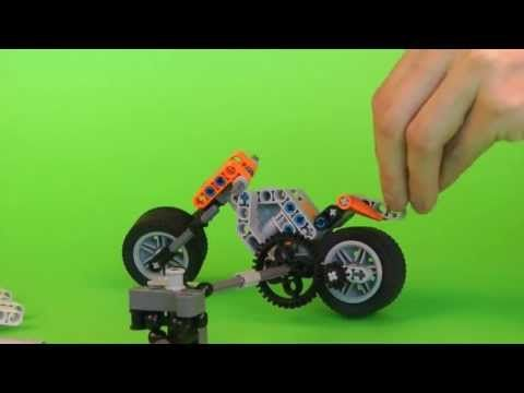 Motorcycle - LEGO Mindstorms NXT | RoboCAMP constructions ...