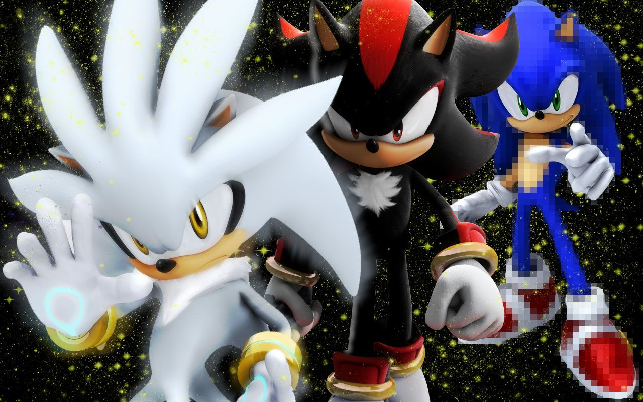 Sonic Shadow Silver Wallpaper By Willdx On Deviantart Sonic And Shadow Sonic Silver Wallpaper