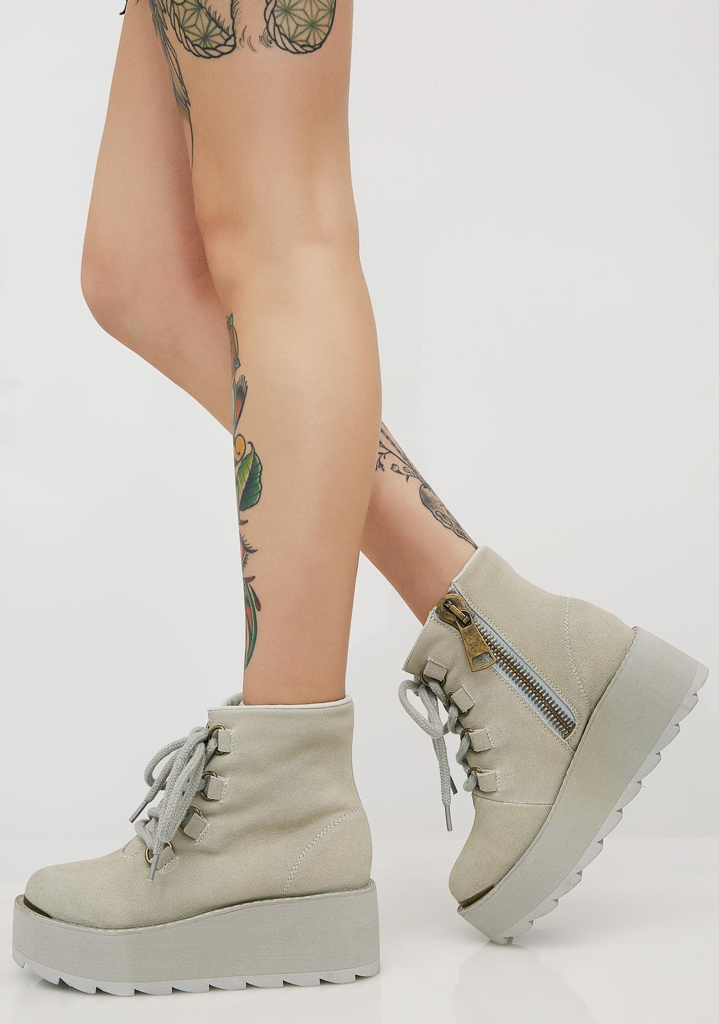 fc1fe209ae0dc Y.R.U. Aspen Sneakers at Dolls Kill