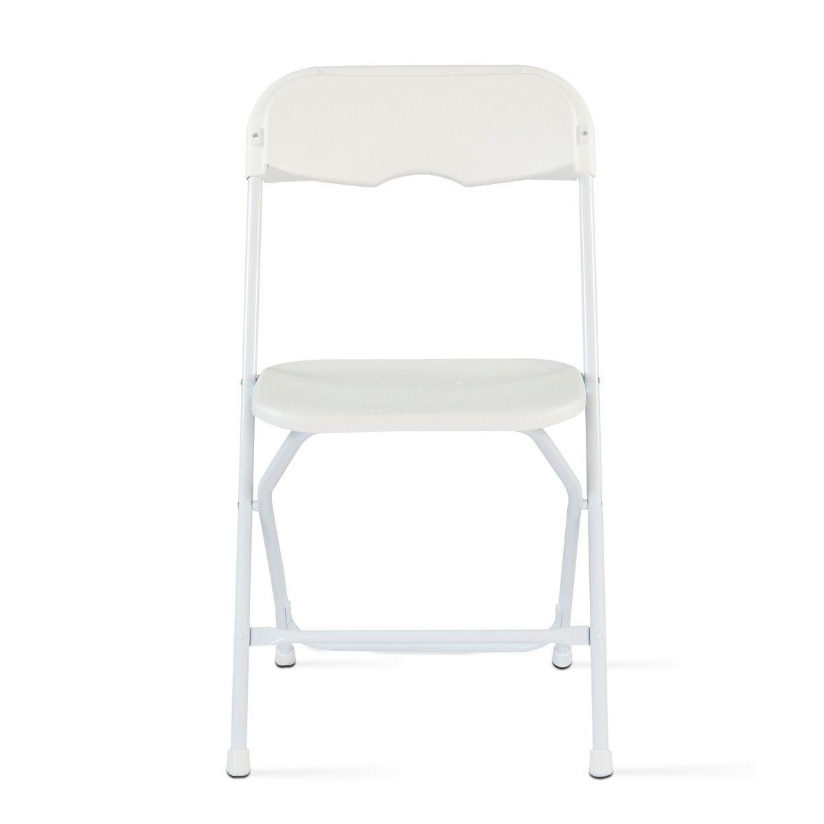 Lot De 10 Chaises Pliantes Taille Taille Unique Chaise Pliable Chaise Plastique Et Table Pliable