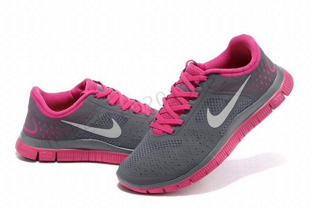 2014-Womens-Nike-Free-5-0-V4-running-shoe-pink-white-996.jpg | //Shoes// |  Pinterest | Running shoes, Running and Nike running
