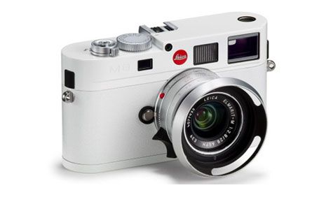 Limited edition M8 Leica | Technology | Rangefinder camera, White