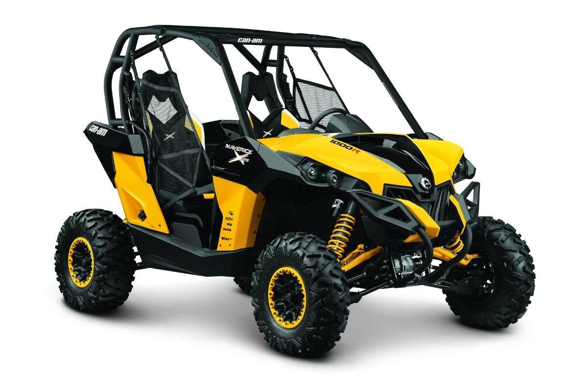 Can Am Maverick 1000r X Rs Yellow Black St Boni Motor Sports St Bonifacius Mn 877 385 0339 Can Am Atv Vehicles