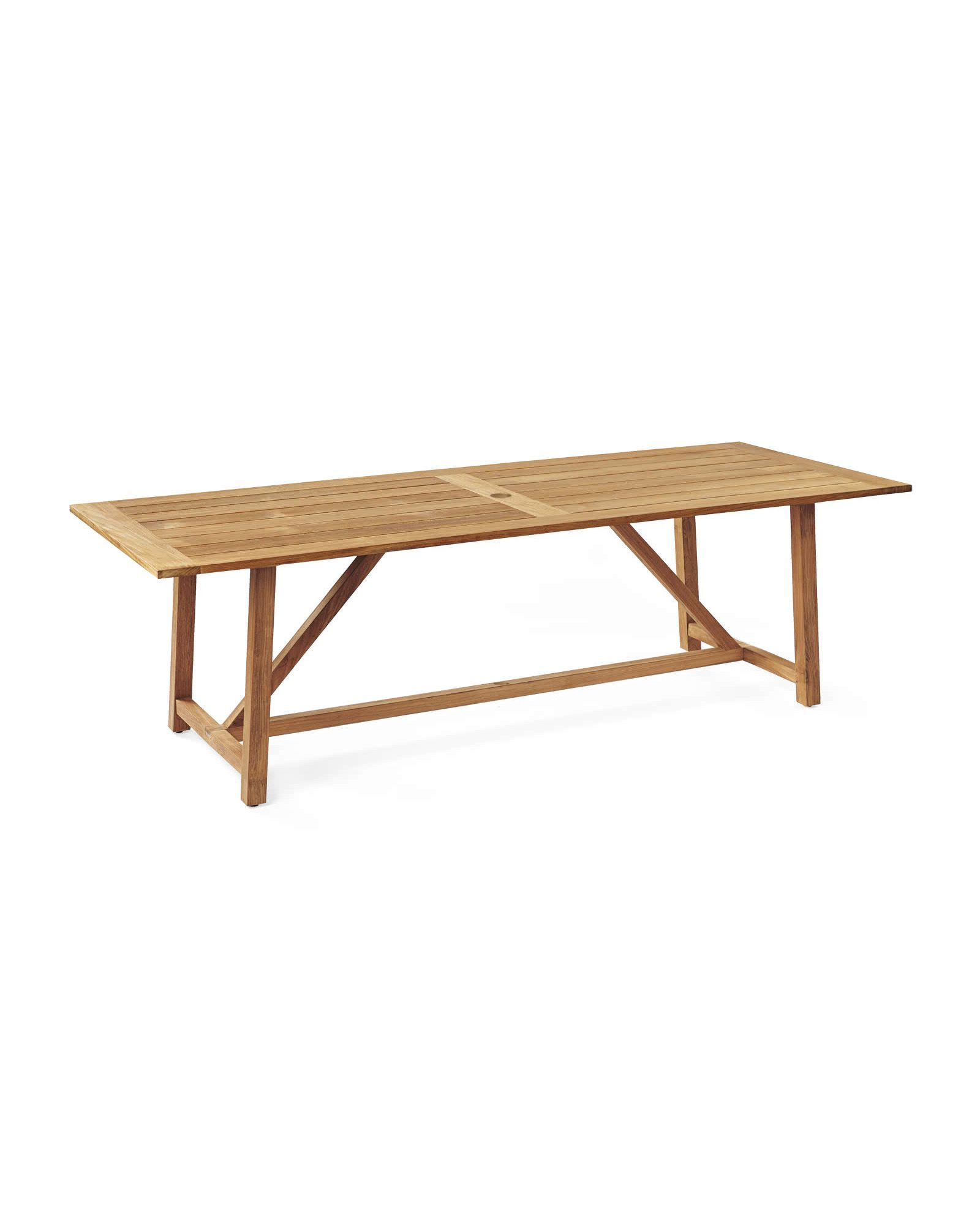 Crosby Teak Dining Table Tables Serena And Lily In 2020 With