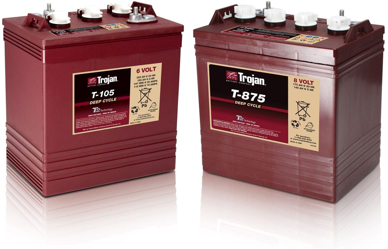 Trojan Batteries Golf Cart Batteries Best Golf Cart Deep Cycle Battery