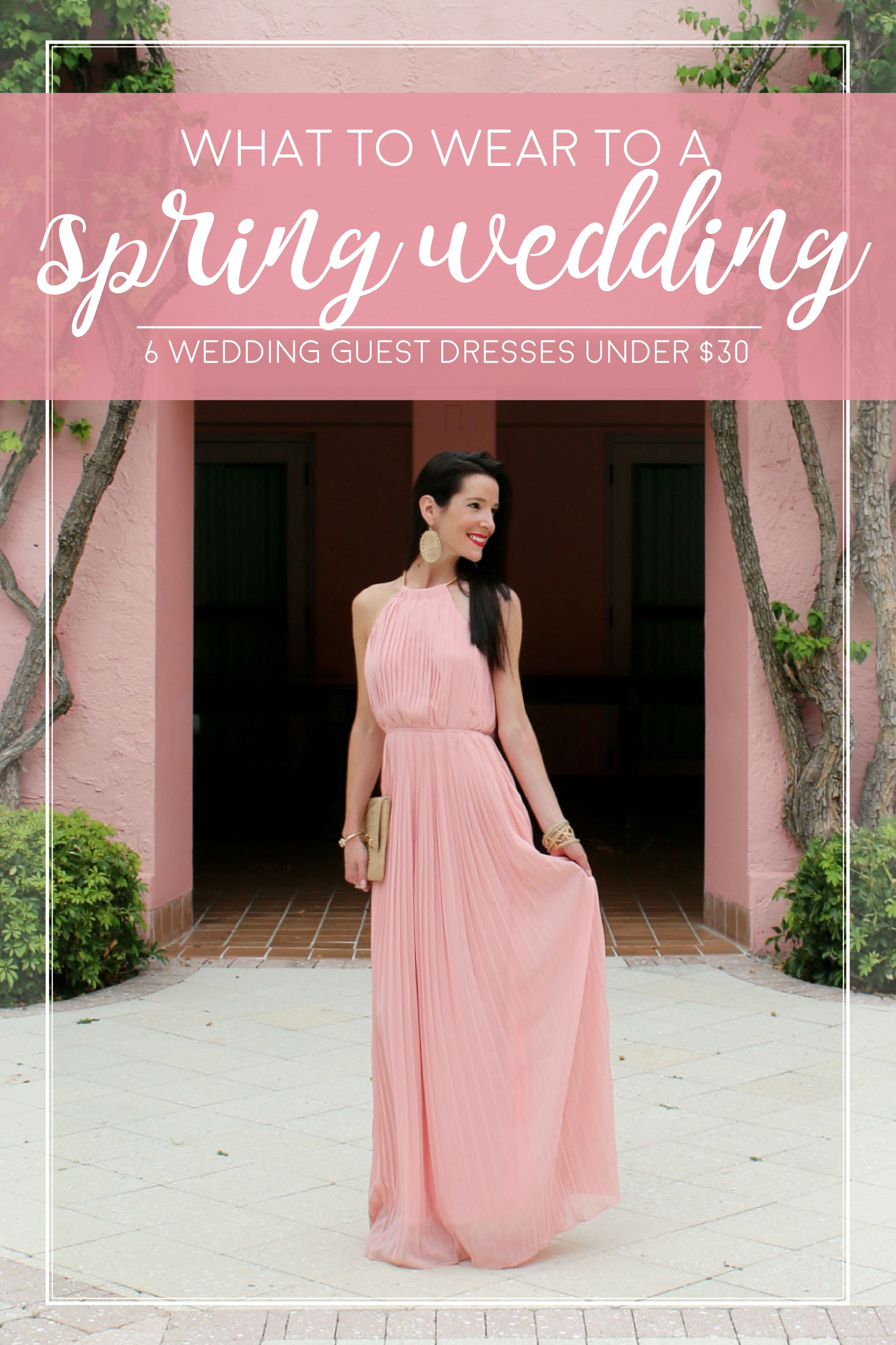 Best dresses to wear to a spring wedding  Best Dresses to Wear to a Spring Wedding