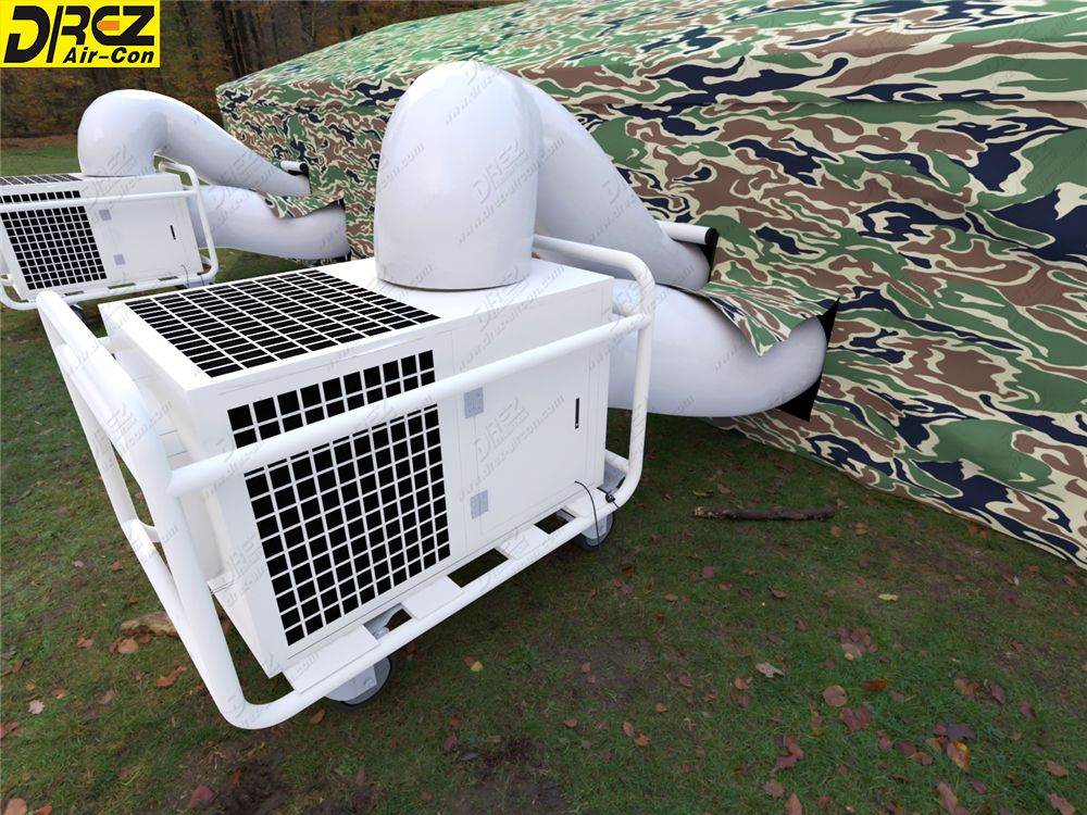 Military Tent Air Conditioning Portable Ac With Packaged