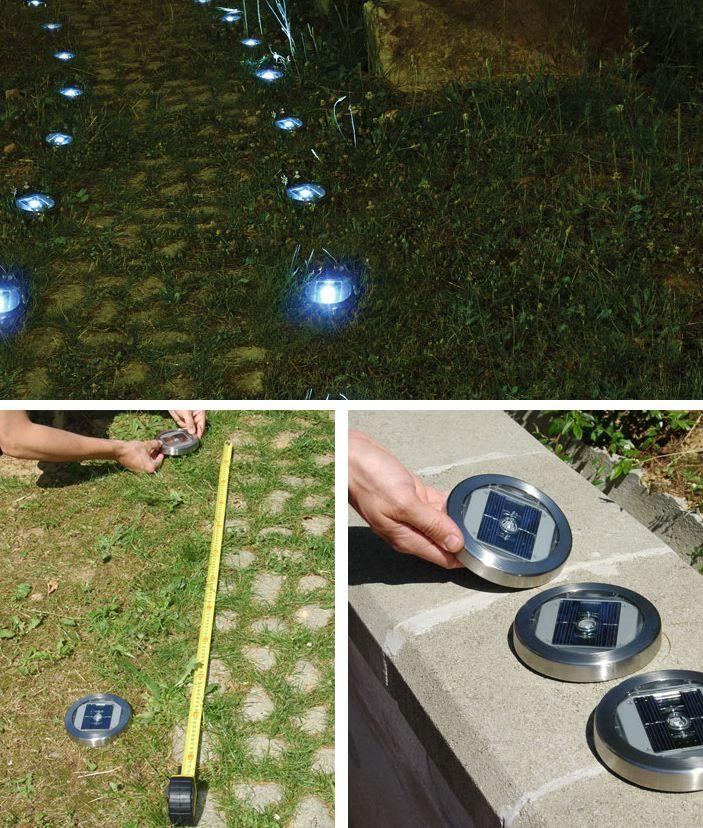 Faretti LED segnapasso per il giardino Idee