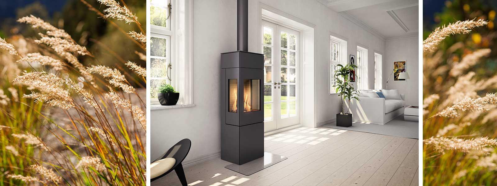 Gas Kaminofen Nexo Ausgezeichnetes Design Und Hochst Variabel 2020 Kaminofen Kamin Design