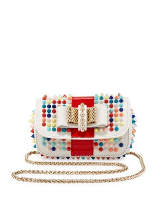 2e28d4e860 Sweet Charity Small Spiked Crossbody Bag by Christian Louboutin at Bergdorf  Goodman.