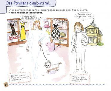 Une page du carnet Jo et Moi à Paris !