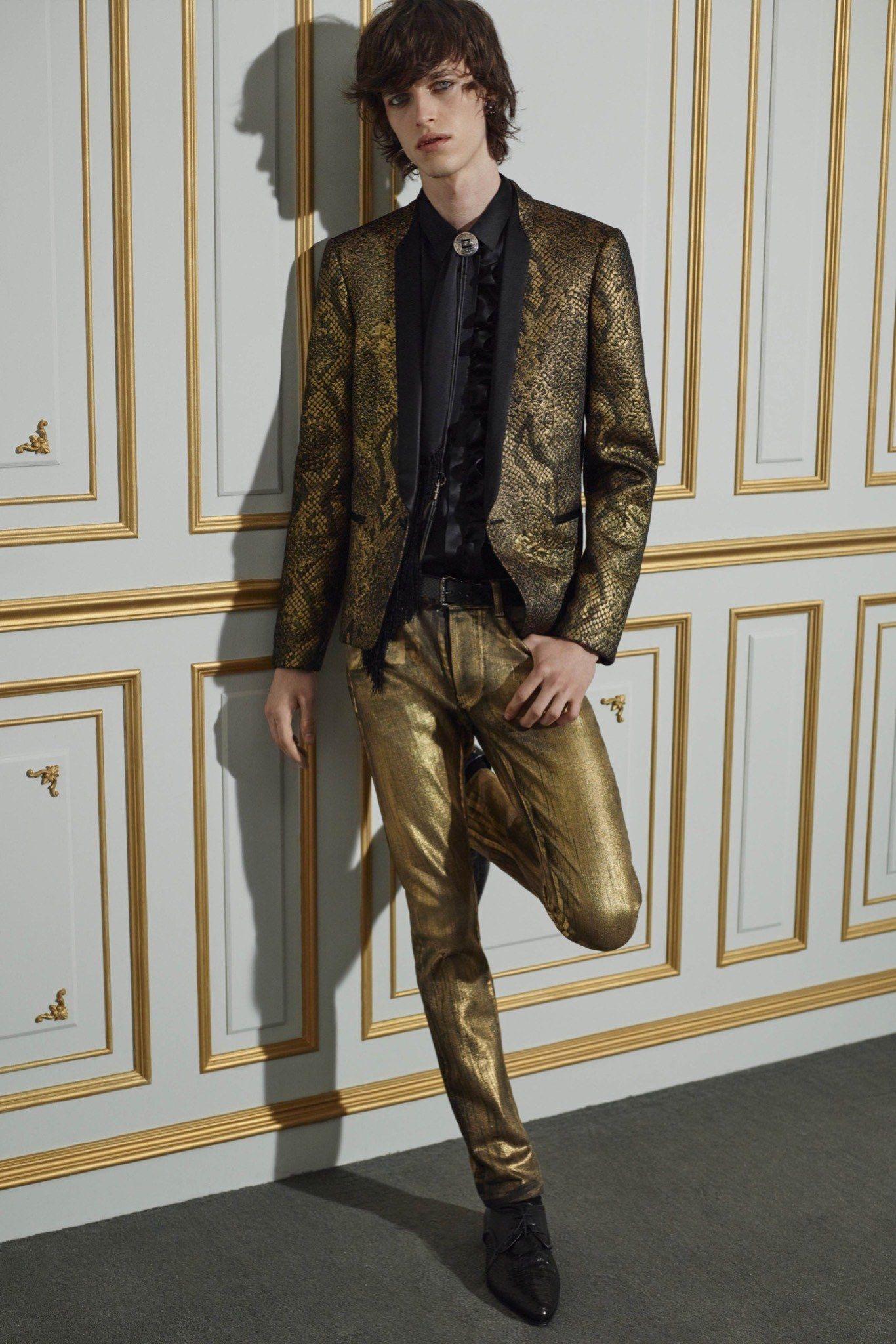 Roberto Cavalli Spring 2016 Menswear Collection Photos - Vogue