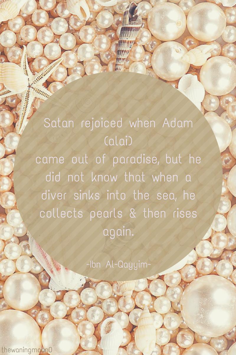 Ibn Al-Qayyim's pearl of wisdom