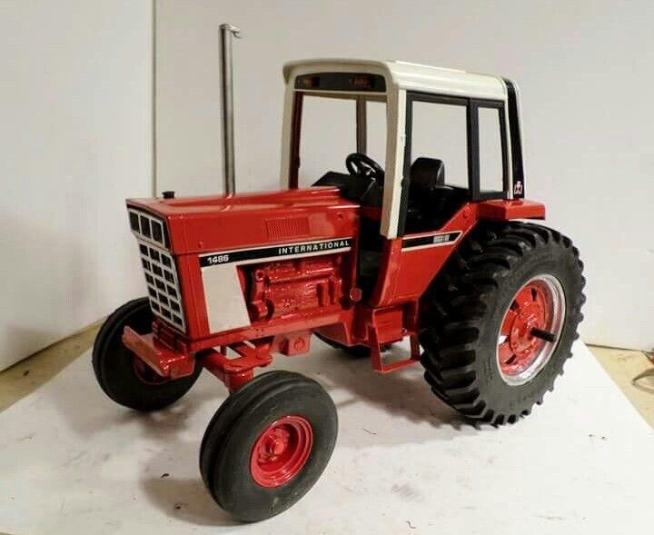 Custom 1 16 Ih 1486 Farm Toys Tractor Toy Farmall