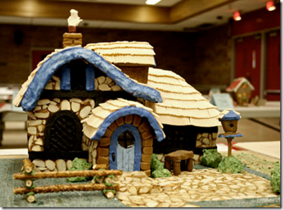 Gingerbread house ideas and inspiration kw gingerbread for Gingerbread house inspiration