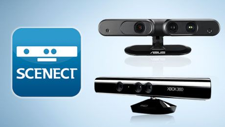 3ders org - New SCENECT version: 3D scanning with Kinect is now even