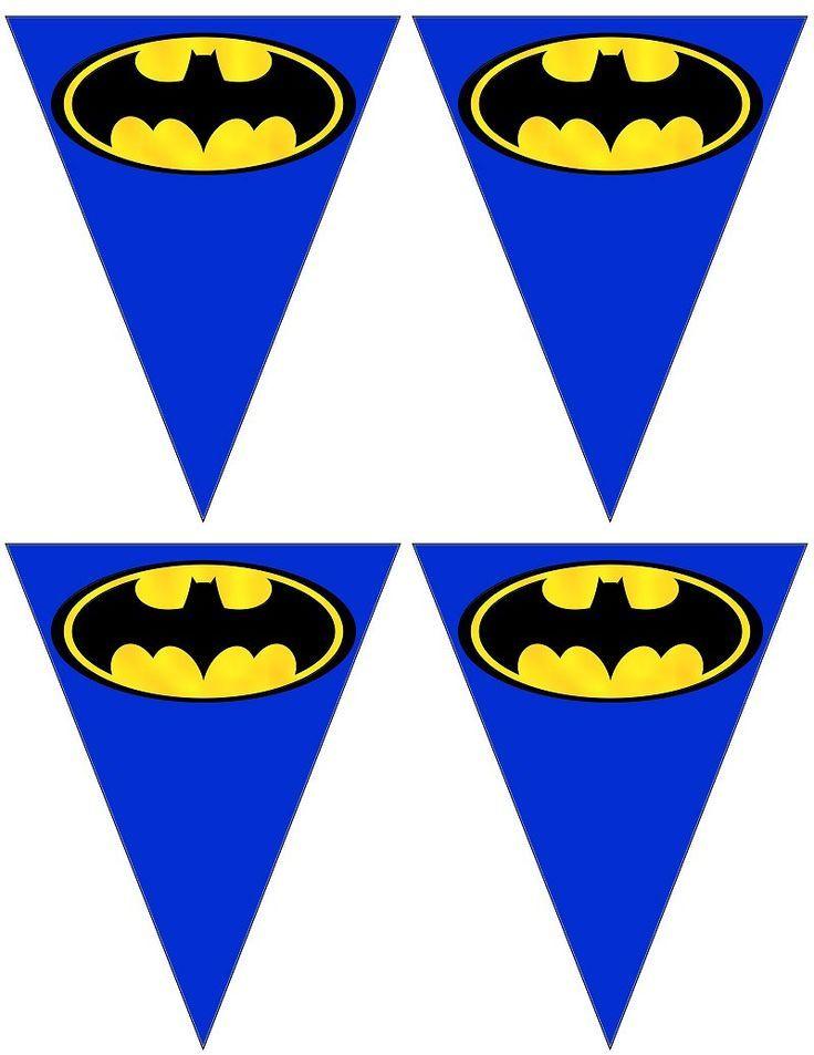 Batman birthday bannerbatman bannerbatman partybatman birthdaysuperhero birthdaysuperhero partysuperhero themebatman decorations