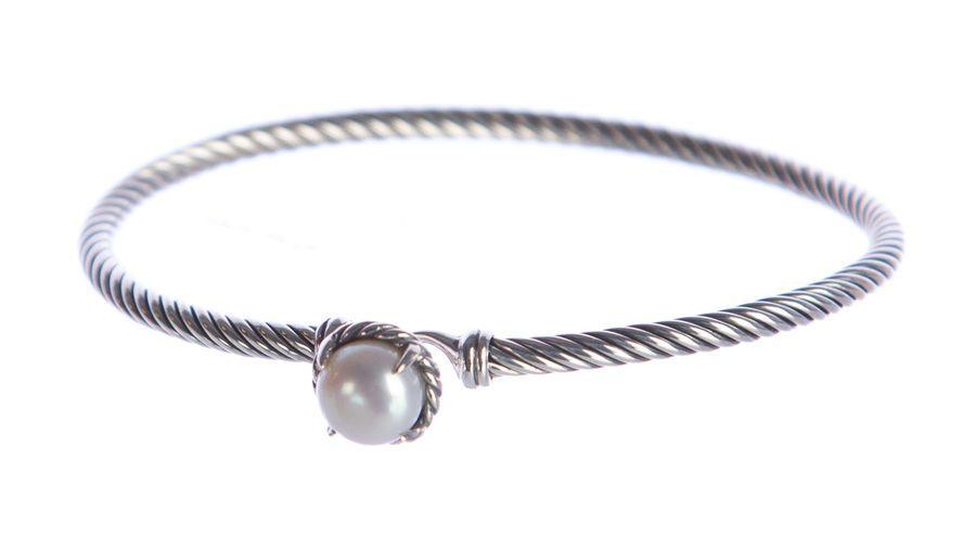 DAVID YURMAN Women/'s Chatelaine Bracelet with Turquoise 3mm $350 NEW