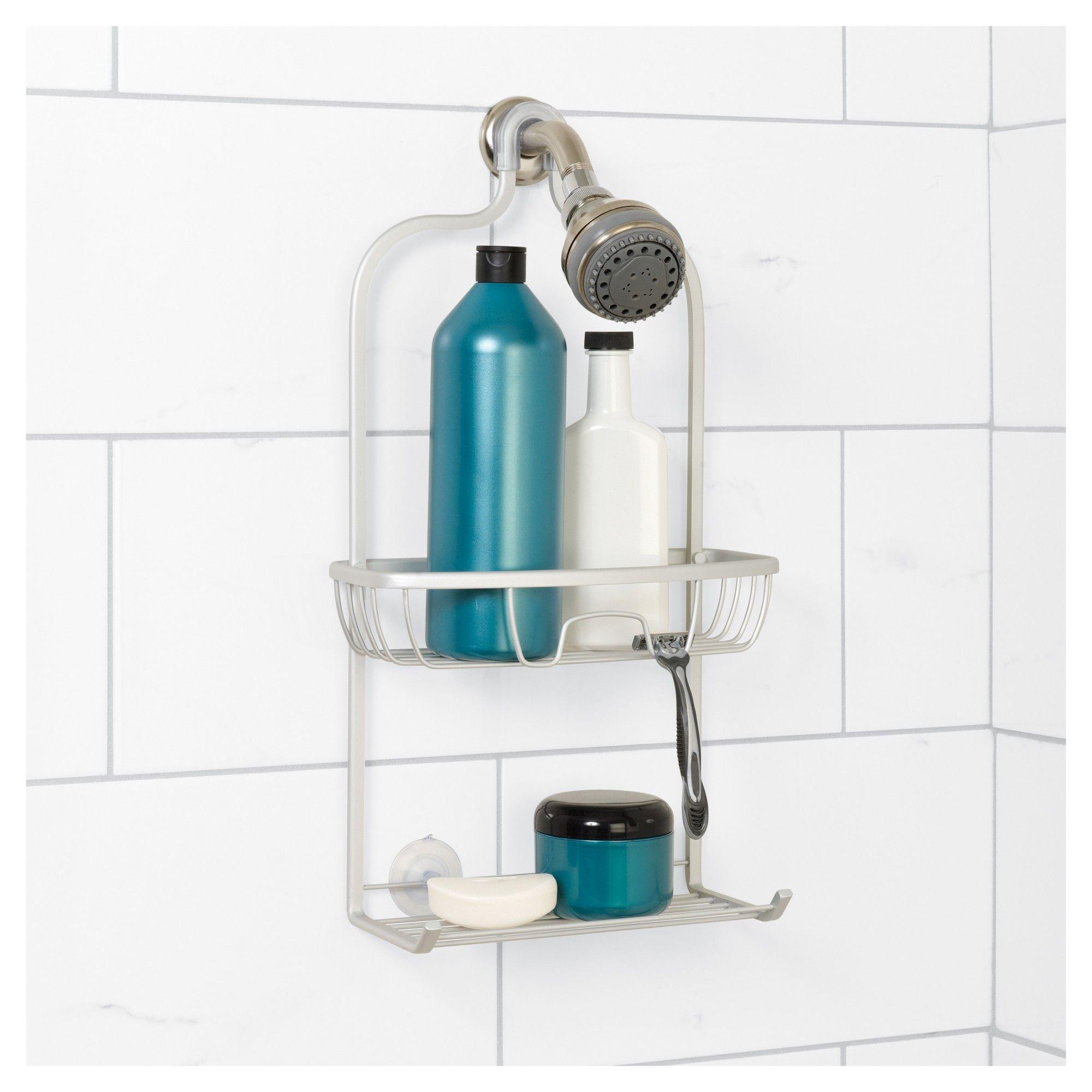 NeverRust Aluminum Shower Caddy Satin Medium Zenna Home | Satin and ...