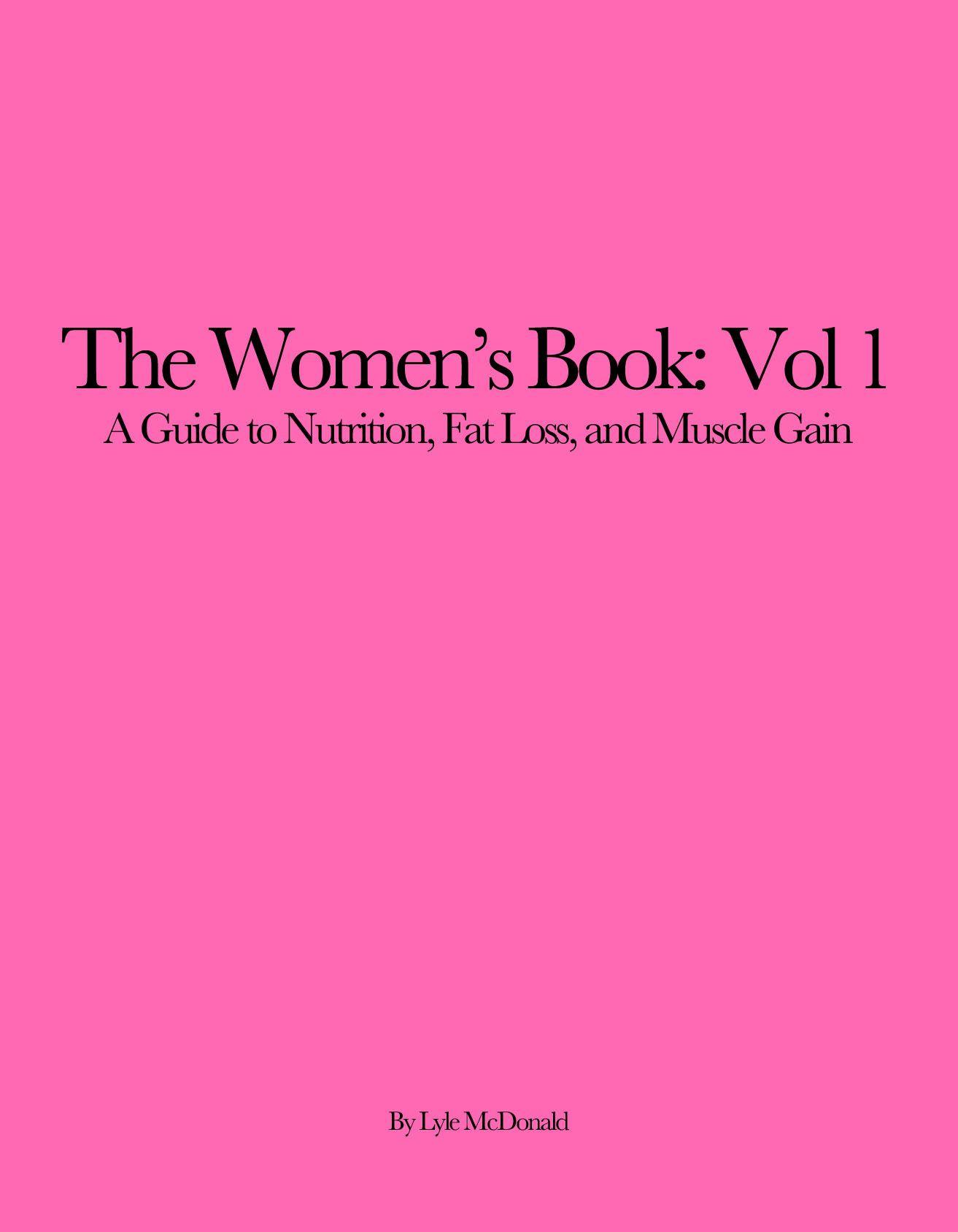 The Women S Book Vol 1