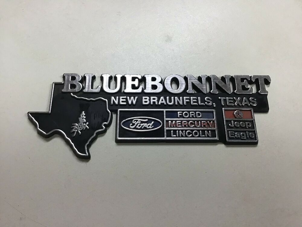 Bluebonnet Ford Lincoln Mercury Jeep Eagle Dealership New