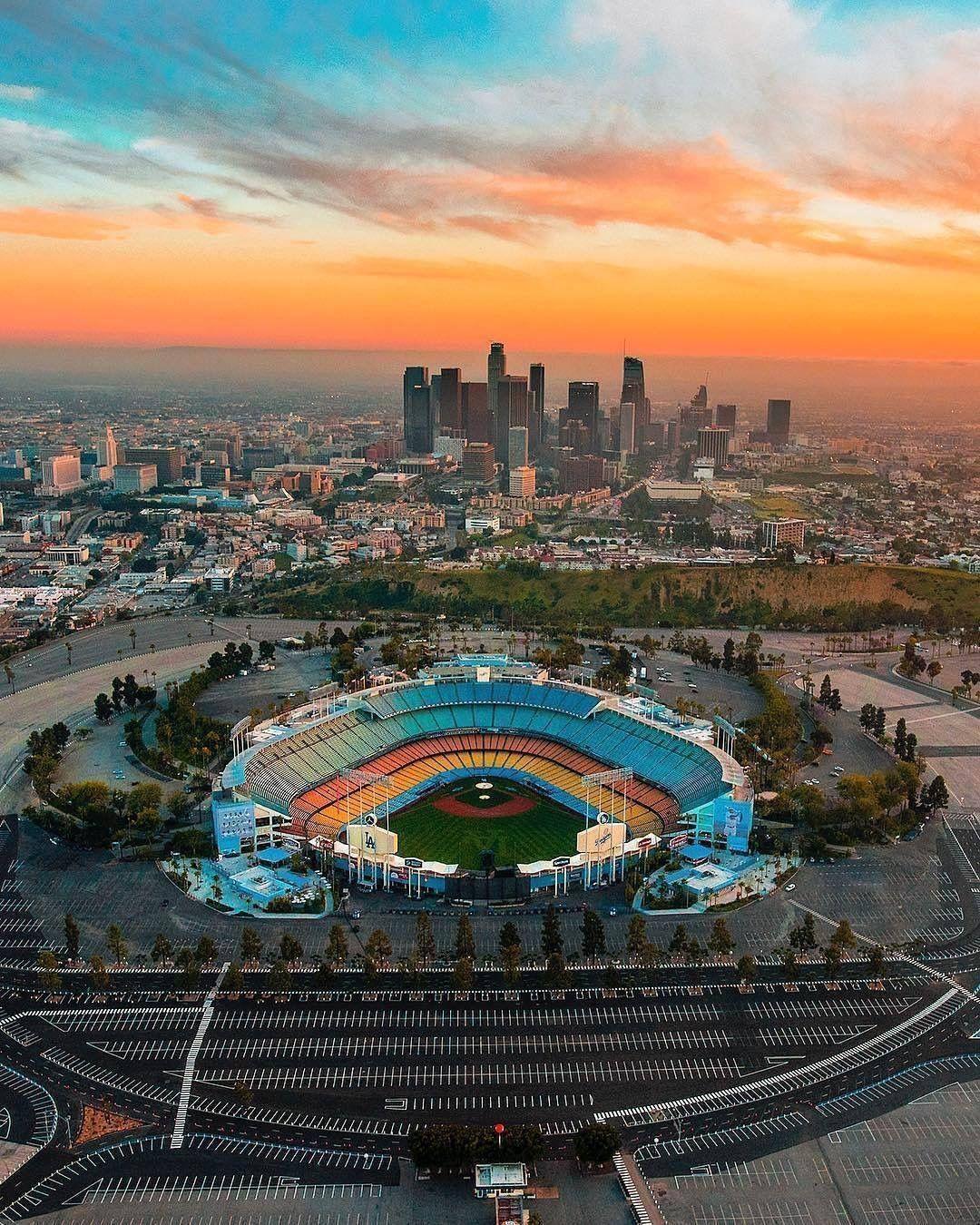 At Chavez Ravine Los Angeles Travel Mlb Stadiums Dodger Stadium