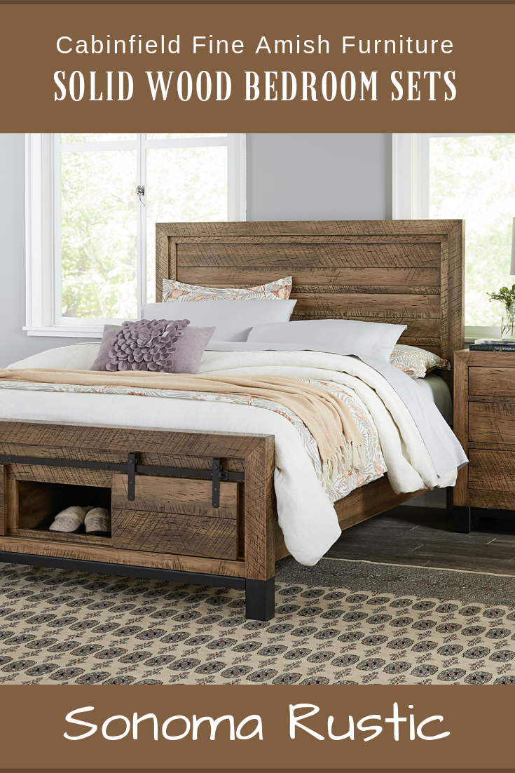 Barnwood and impeccable handcrafted details promise solid wood