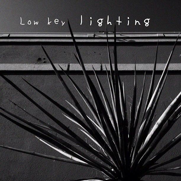 low key lighting