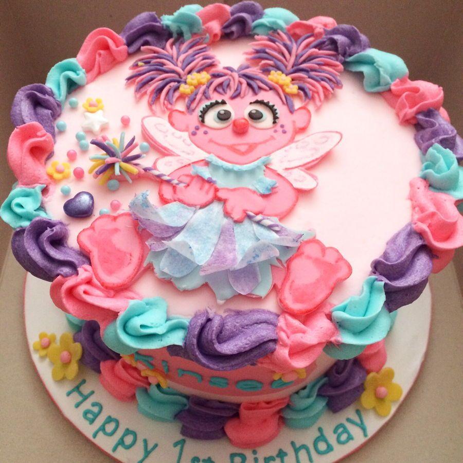 Abby Cadabby Smash Cake Sesame Street Birthday Cakes Elmo