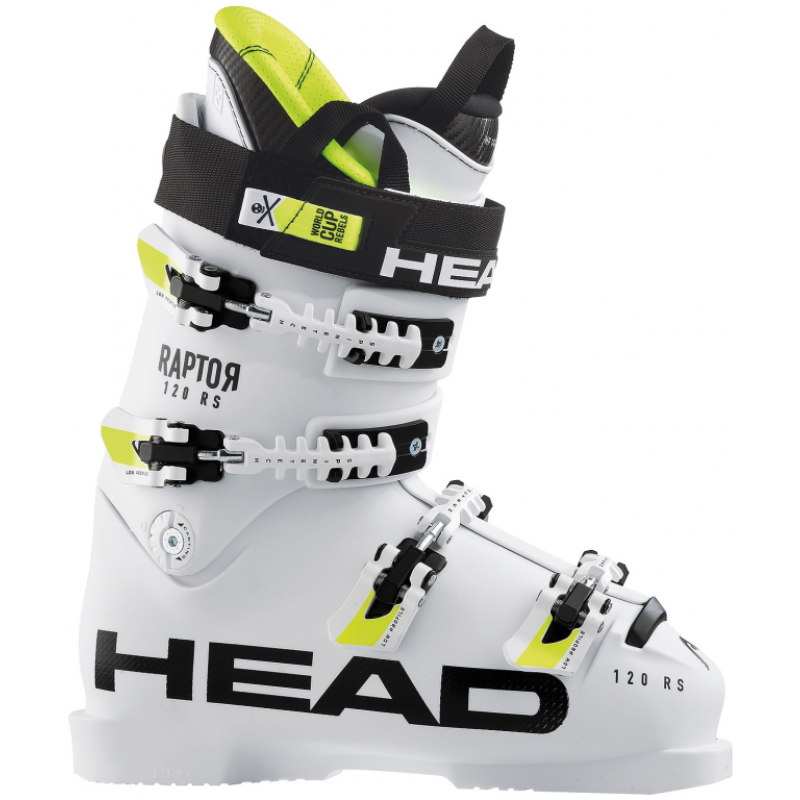 The High End Head Raptor 120s Rs Ace Boot Is Directed At Expert Racers And Performance Skiers Who Demand Express Power Transmission And Preci Skischuh Skischuhe