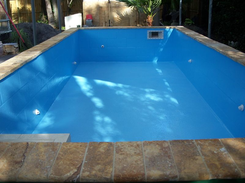 Cinder block pool kits re concrete block puppy pool - Cinder block swimming pool construction ...