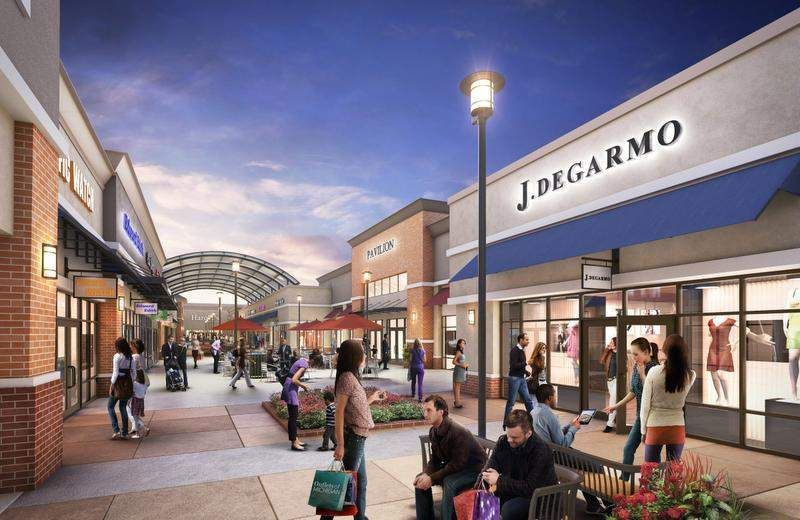 Company Plans Big Outlet Mall Near Metro Airport Romulus Detroit Commercial Real Estate